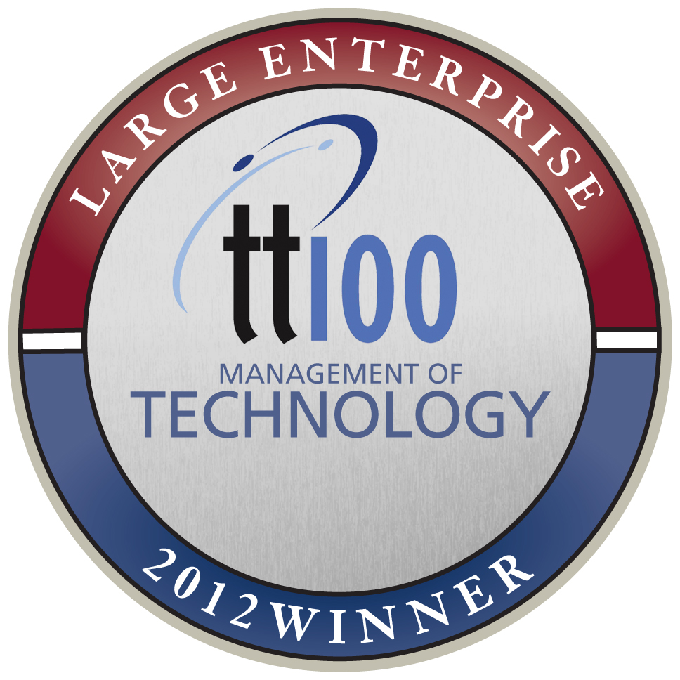 technology top 100 winners